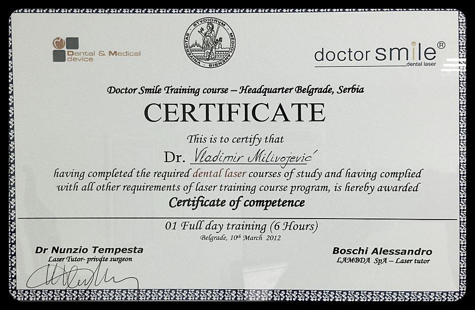 DR VLADA SERTIFIKAT 3